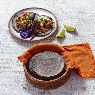Blue Corn Tortilla - 14.5cm