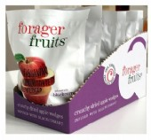 RETAIL - Freeze Dried Apple Wedges Infused with Blackcurrant 20g