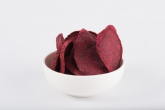 Freeze Dried Beetroot Chips 100g
