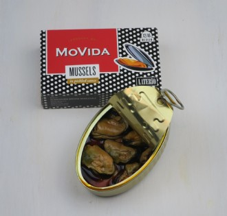 Movida Mussels in Escabeche