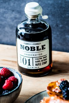 Noble Handcrafted Tonic # 1 Bourbon Barrel Matured Maple Syrup  - 450ml