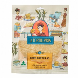 Retail - Corn Tortilla 8pc (16cm)