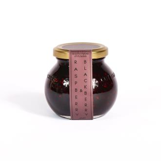 Raspberry & Blackberry Jam - 220g