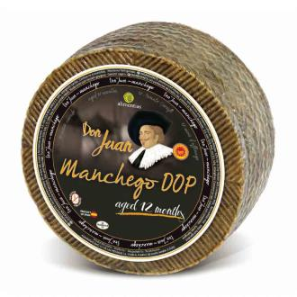 Manchego Don Juan 12mth - Sheeps Milk (WHOLE WHEEL)