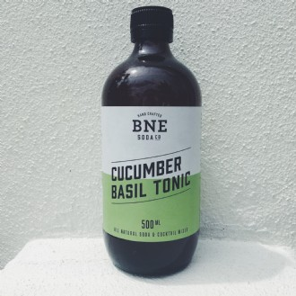 Cucumber Basil Tonic - 500ml