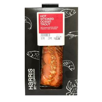 (pre-order)Ocean Trout w. blackening spice - Hot Smoked - R